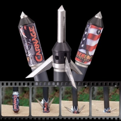 Carnage Mechanical Broadhead - 3 Pack 100 Gr.