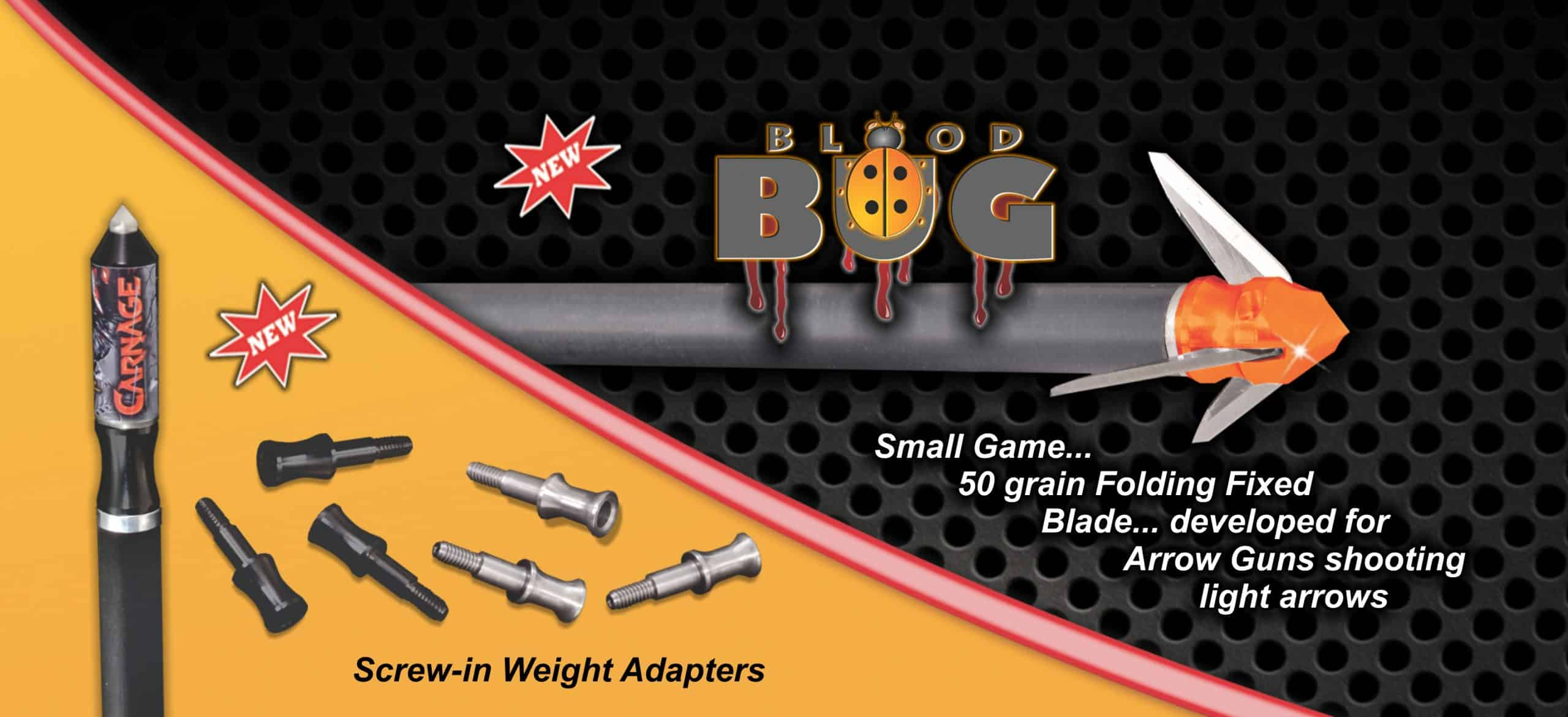 Innerloc Blood Bug Broadhead for air guns and air bows